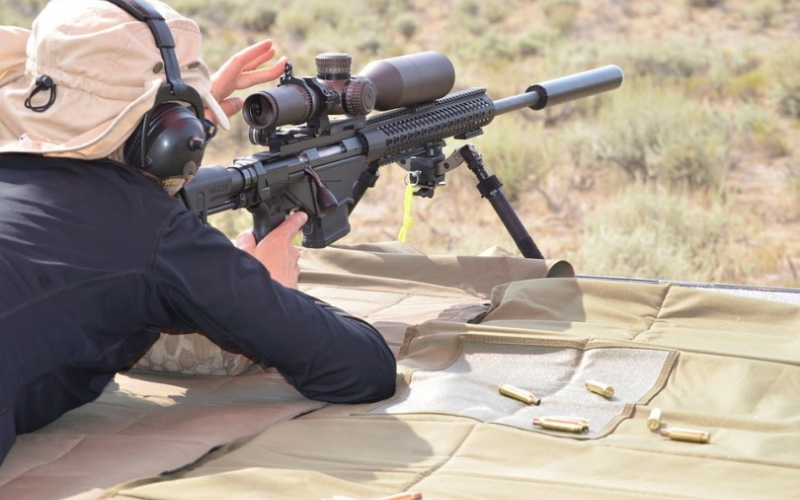 how to sight in a rifle scope without boresighter