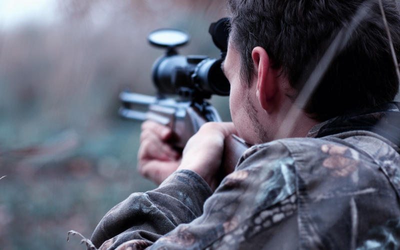 how to sight in rifle scope without a boresighter