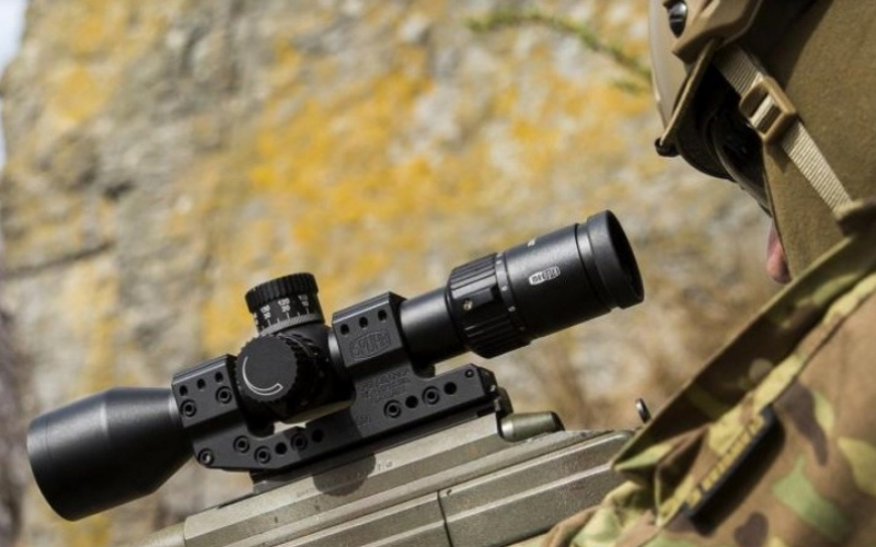 how to use the mil dot scope for dummies