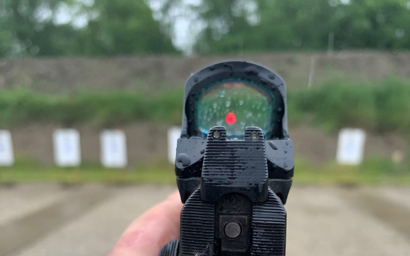 red dot vs reflex sight