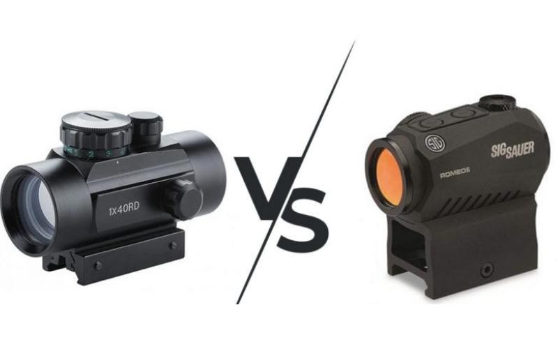 the red dot vs reflex sight