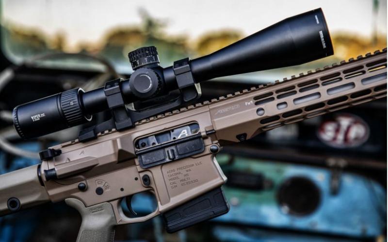 the vortex optics viper pst gen ii rifle scope