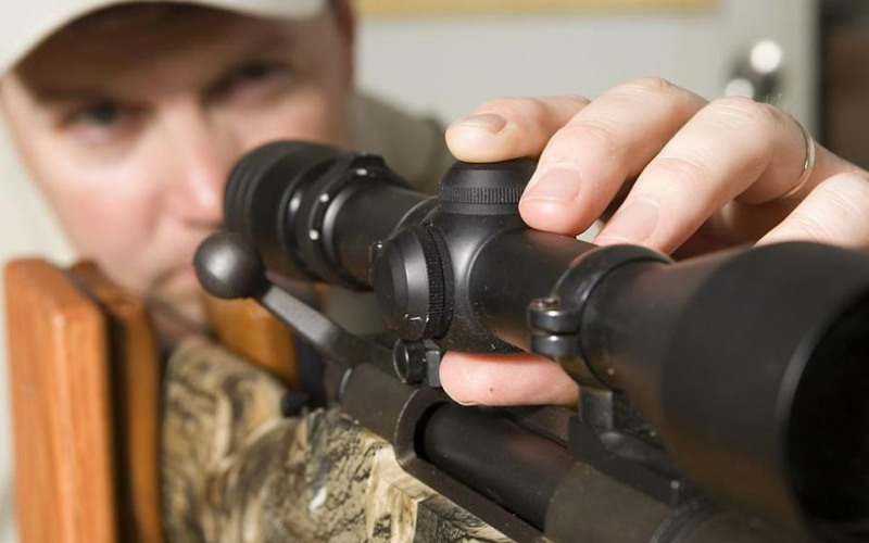 what distance to zero air rifle scope tip