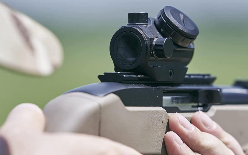 best ar15 carry handle scopes